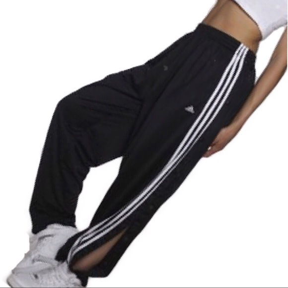 Vintage Adidas Tear Away Track pants